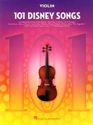 101 Disney Songs -For Violin-: Noten, Sammelband für Violine