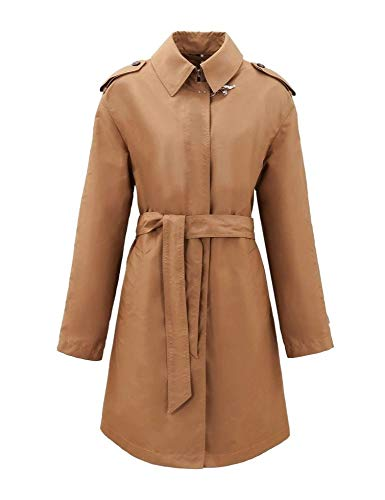 Luxury Fashion | Fay Dames NAW60403790AXXC806 Bruin Polyester Trenchcoats | Lente-zomer 20