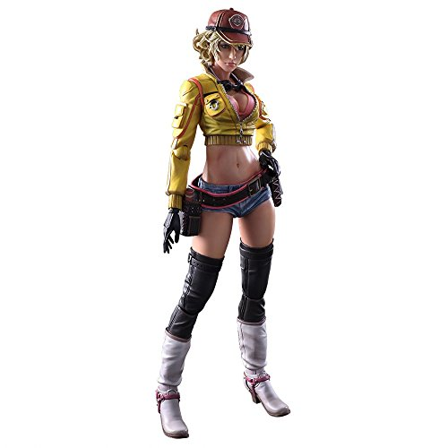 Square Enix 604453 Final Fantasy 15 Play Art Cindy Aurum - Figura Decorativa