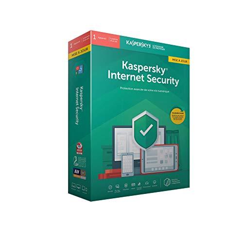 Kaspersky Internet Security 2019 Mise à jour (1 Poste / 1 An)