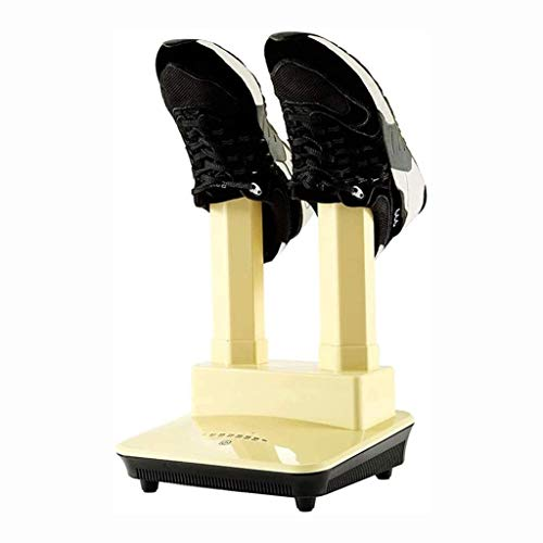 Qiutianchen Secador de Zapatos for el hogar Botas eléctricas Calentador Mini calificador portátil Calentador for Calcetines Se Adapta a la mayoría de los Tipos de Botas de Botas for Calzado.