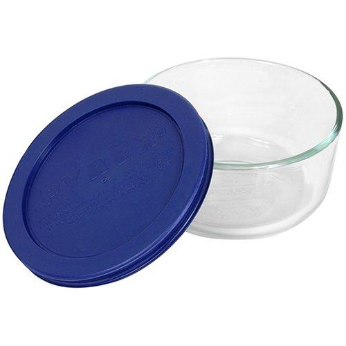 Pyrex 2-Cup Round Glass Food Storage Dish
