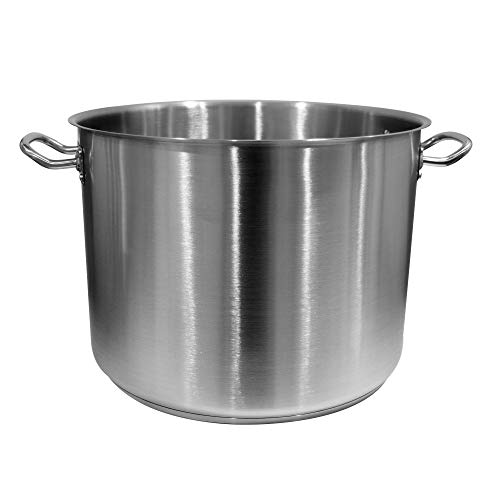 Update International SPS-40 Induction Stock Pot, 40-Quart, Silver