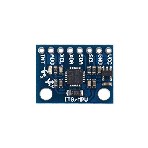 LIANQI 3V-5v 2.54mm Pitch Chip built-in 16 bit AD converter GY-521 6 DOF MPU-6050 Module 3 Axis Accelerometer Gyroscope Module for Arduino
