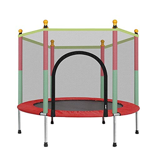 Logo 140 Cm Indoor Trampoline With Protective Net Adult Children Trampoline Outdoor Trampoline Sports Bed Fitness Equipment