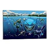 DRAGON VINES Fantasy Experience Poster Findet Nemo Bruce