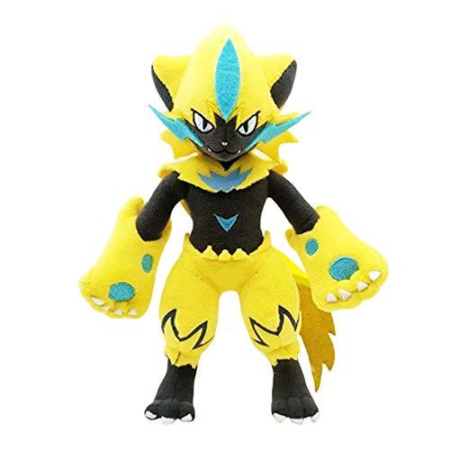 HHtoy 25 Centimetri Zeraora Peluche Cuscino Giocattolo Pokemon Molle farcito Toy Doll Anime Figure Ammortizzatore del Cuscino del Regalo di Compleanno di Natale