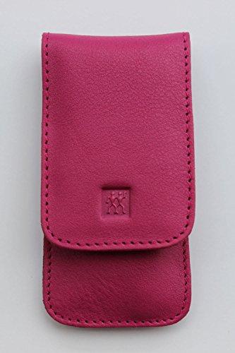 "Zwilling Nageletui\""Classic Inox\"", 3-teilig, Rindleder (pink)"