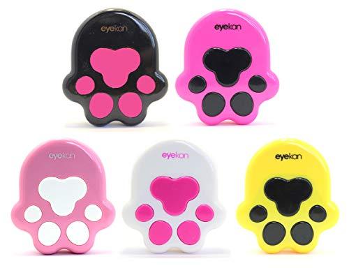 Kontaktlinsenbehälter Linsenbehälter Aufbewahrungsbehälter Wolfskralle Set NEU (Pink)