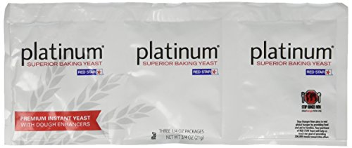 Platinum Superior Baking Yeast - 3 CT