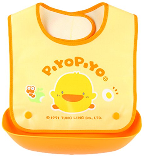 Piyo Piyo Detachable Pocket Bib