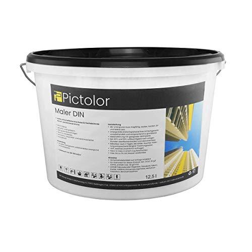 Pictolor Maler DIN 12,5 Liter weiß