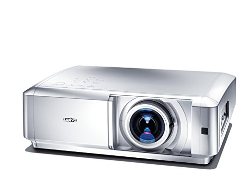 Sanyo PLV Z5 HDTV Projektor (1100 ANSI Lumen) HDMI Silber