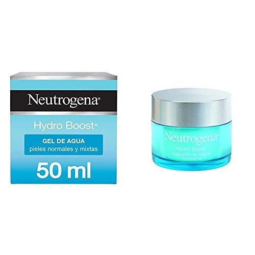 Neutrogena Crema Facial – Gel de agua Hydro Boost & Mascarilla de Noche Hidratante