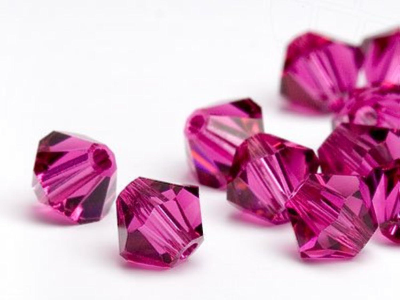 respuestas rápidas Swarovski Perlas de Cristal Elements Cono Doble 4mm (Fuchsia), (Fuchsia), (Fuchsia), 480 Piezas  los nuevos estilos calientes