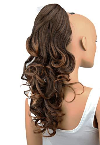 PRETTYSHOP Haarteil Hair Piece Zopf Pferdeschwanz ca 60cm Hitzebeständig wie Echthaar div. Farben H25