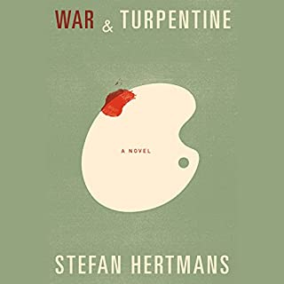 War and Turpentine audiobook cover art