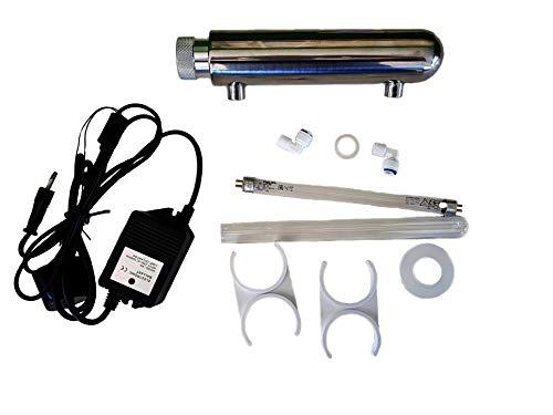 Nature Waterprofessionals Lampara UV, Ultravioleta, desinfección y esterilización de Osmosis inversa