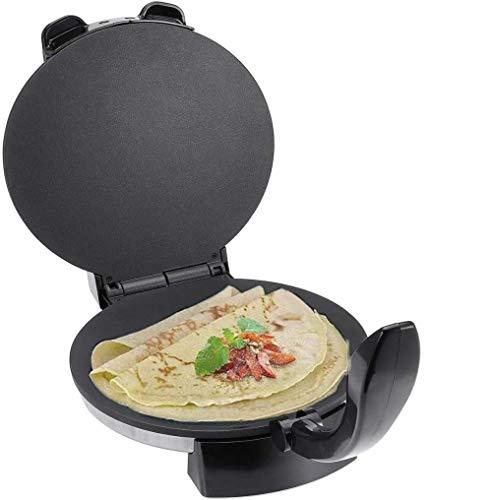 Cocina eléctrica Roti Crepe Maker, Pizza, Chapati Pan plano Pizza Tortilla Maker...