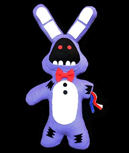 Broken/ Withered Bonnie (Handmade Plush) Five Nights at Freddys Inspired 13 inches