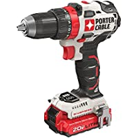 Porter-Cable 20-Volt MAX Lithium-Ion Brushless Cordless 1/2 in. Drill/Driver with 2 Batteries 1.5 Ah and Charger