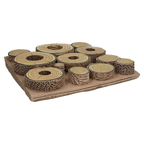 Rosewood Maze-a-Log Intelligenzspielzeug für Kaninchen / Meerschweinchen mit Leckerli-Versteck - 3