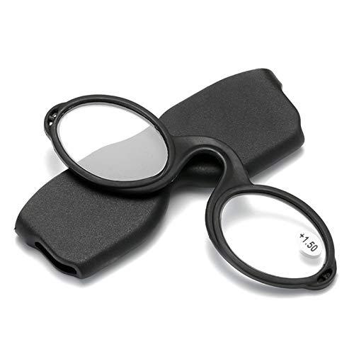CNZXCO 2pcs Gafas De Lectura, Gafas De Lectura De Silicona De Moda Y Portátil, Gafas De Lectura De Goma Compactas Multicolores, Decoración Personalizada para Gafas Aumidas