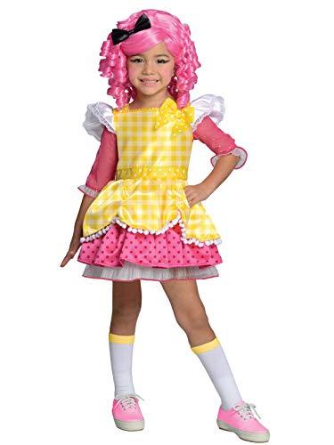Rubies Costume Co R881366-TODD Ragazze Deluxe Lalaloopsy briciole di zucchero Cookie Costume Bambino