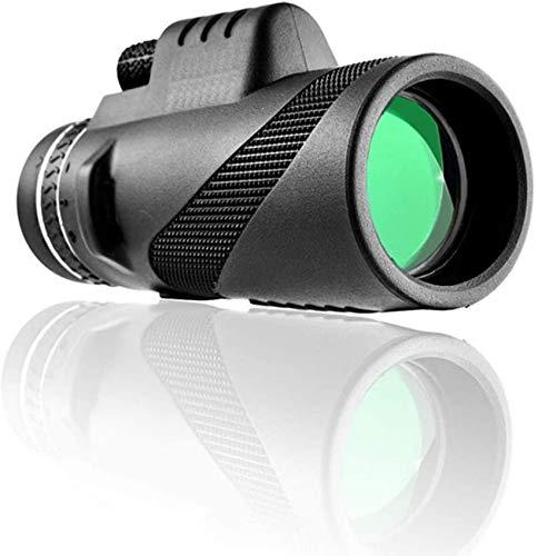 Y DWAYNE Monocular, HD 40X60 Telescopio para teléfono móvil con Gran Aumento con trípode de Disparo Bluetooth Concierto dedicado al Aire Libre