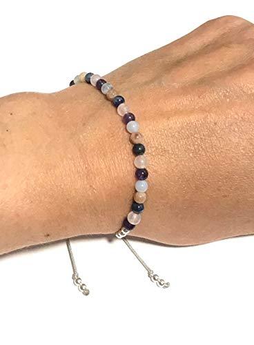 KARMA GEMS Weight Loss Holistic Support Balance Reki Bracelet - Adjustable