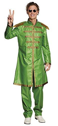 Boland-BOL83678 Disfraz de Sargento Pop para Adulto, color verde, 50/52 (Ciao Srl BOL83678)