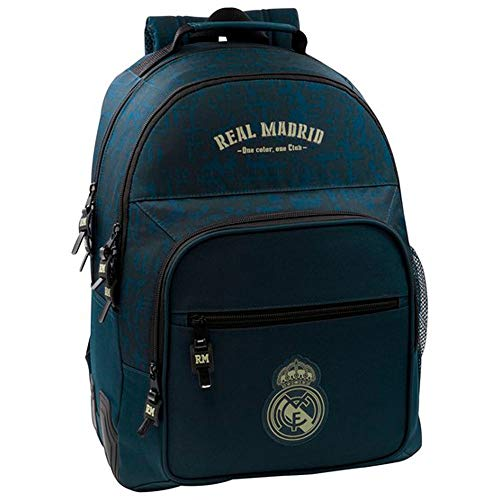SAFTA- Real Madrid Valigia per Bambini, Colore Blu, 611934773