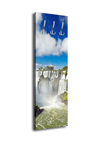Perchero con diseño de Cascada Argentina G18940x 125cm Cascada Selva Natural