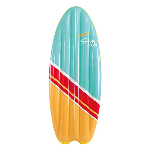 Intex 58152EU Tabla de surf hinchable Fibertech, 178 x 69 cm, colores surtidos