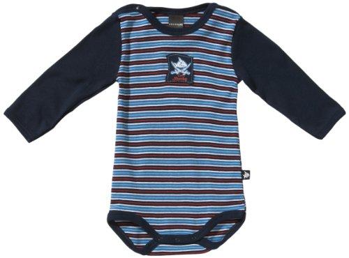 Schiesser Baby - Jungen Body 135525-803, Gr. 74 (7M), Blau (803-dunkelblau)