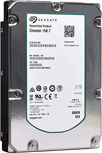 Seagate Cheetah 15K.7 | ST3600057SS | 600 GB 15.000 U/min SAS 6Gb/s 16MB Cache 3,5 Zoll interne Festplatte (Renewed)