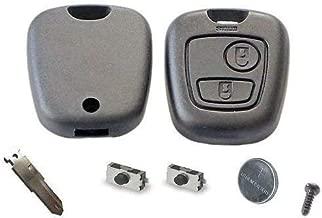 Automobile Locksmith Kit dauto-r/éparation pour Coque de cl/é plip 2 ou 3 Boutons Toyota 1 Coque en Caoutchouc 2/interrupteurs 1/Pile CR2016