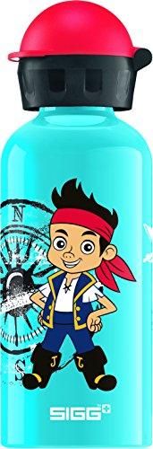 SIGG Jake und Friends Kinder Trinkflasche (0.4l), schadstofffreie Kinderflasche mit auslaufsicherem Deckel, schöne Wasserflasche aus Aluminium
