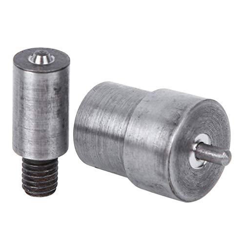 Okuyonic Herramienta de Cierre de Hebilla de Ojales de Acero al Carbono perforador de Ojales para artesanía de Cuero, Botones de Tela(4mm)