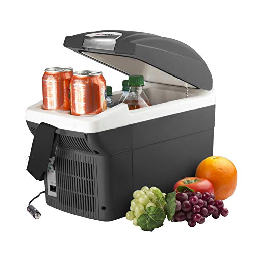 Wagan EL6206 - 6 Quart 12V Portable Electric Cooler/Warmer for Car, Truck, SUV, RV, Trailer DC Powered