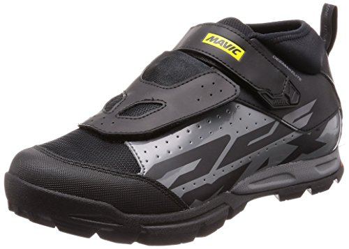 Mavic Deemax Elite Cycling Shoe - Men's Black/Smoked Pearl/Black, US 10.0/UK 9.5