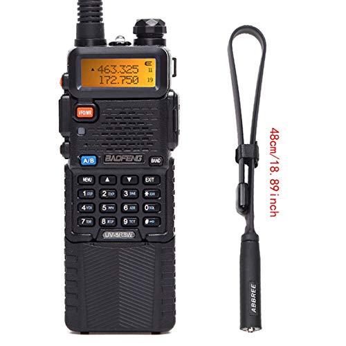 BaoFeng UV-5R High Power Portable Two-Way Radio 3800mAh Battery with 18.8inch ABBREETactical Antenna