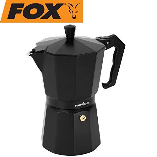 Fox Cookware Coffee Maker - Kaffeekocher für Angler, Campingkocher für Kaffee, Kaffeemaschine zum Angeln, Coffeemaker, Größe:300ml