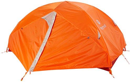 Marmot Unisexe Vapor 4P Tente, Blaze/Sandstorm, Taille Unique