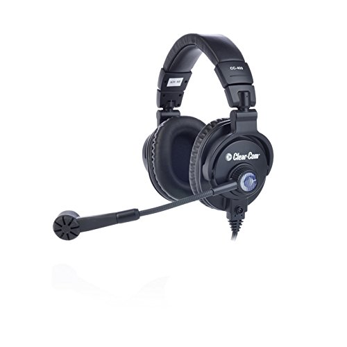 Best Prices! Clear-Com CC-400-X6 | Double Over Ear 6 Pin Male XLR Cardioid Headset