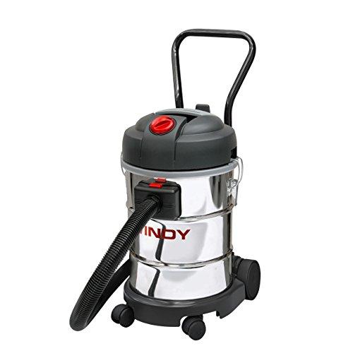Lavor 8.250.0001 0001 0001 - Aspirador profesional de polvo y líquido Windy 130 If 1200/1400 W 65 L/s 24/2400 Vacío kPa/mmH2O depósito 30 lt