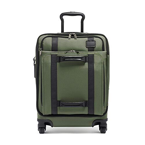 TUMI - Merge Continental Front Lid 4 Wheeled Carry-On Luggage - 22 Inch Rolling Suitcase for Men and Women - Forest