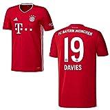 Bayern Trikot Home Kinder 2021 - Davies 19, Größe:164