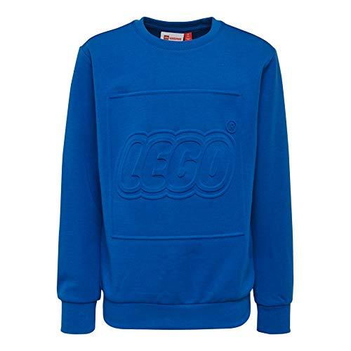 Lego Wear Lego Boy Lwsiam 602-Sweatshirt Felpa, Blu (Blue 553), 122 Bambino