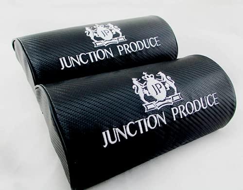 AOWIFT 2 unids fibra de carbono JP empalme producir VIP lujo reposacabezas coche almohada asiento